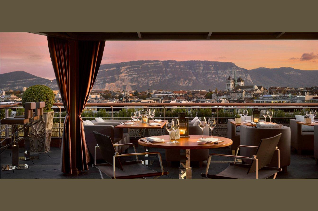 Four Seasons Hotel Des Bergues Geneva- Spa Mont Blanc & Izumi Restaurant Image 9